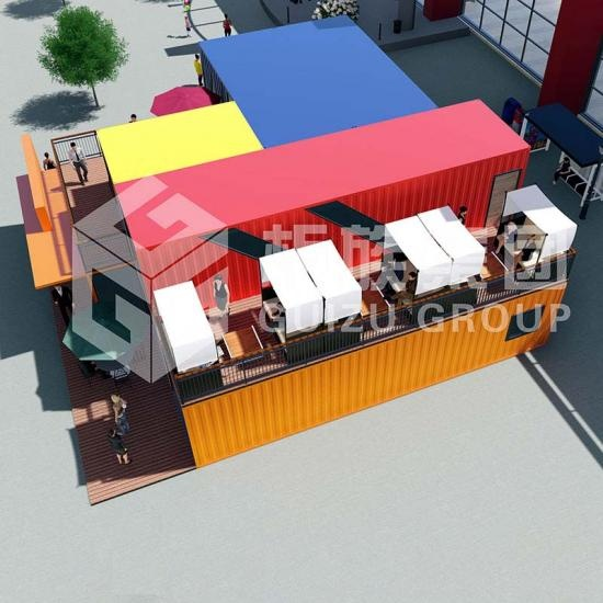 Shipping Container Restaurant