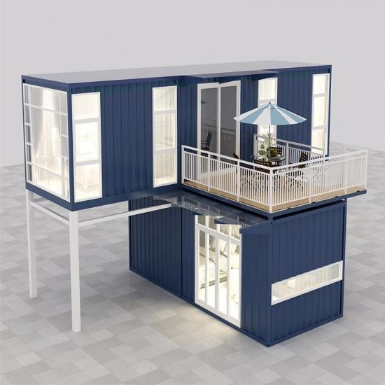 Two storey container shop