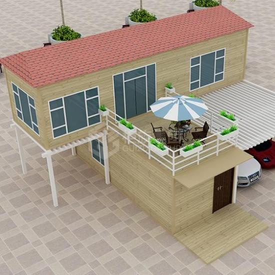 prefab house for accommodation